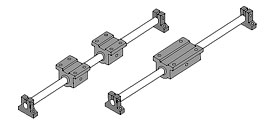 FluoroNyliner<sup>®</sup> End Support Linear Guide System