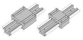 2DA Dual Shaft Linear Guide Integrated Carriage