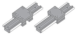 2DA Dual Shaft Linear Guide Modular Carriage