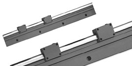 1Dx Side Mount RoundRail Linear Guide System