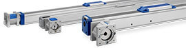 Movopart Linear slide actuator, a linear motion unit
