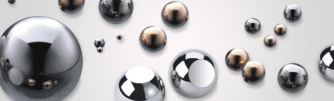 "Two  1-1//4/"" 302 stainless steel bearing balls"